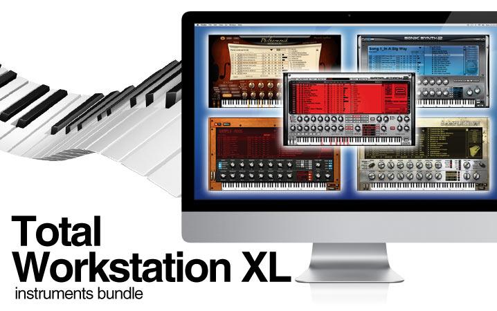 Total Workstation XL Instruments Bundle